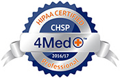 HIPAA Certified Professional badge
